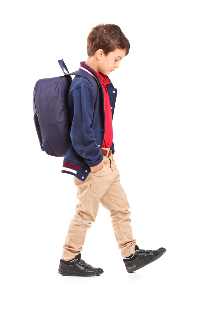 is your childs school bag and shoes causing them pain and